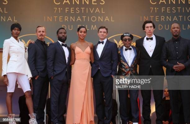 US actress Damaris Lewis Finnish actor Jasper Paakkonen US actor John David Washington US actress Laura Harrier US actor Topher Grace US director...