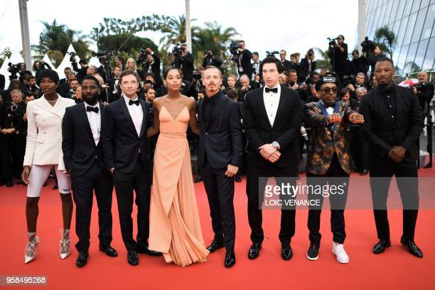 US actress Damaris Lewis US actor John David Washington US actor Topher Grace US actress Laura Harrier Finnish actor Jasper Paakkonen US actor Adam...