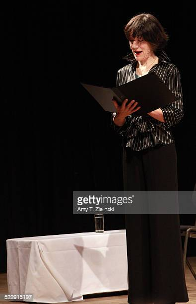 Actress Dame Harriet Walter portrays Clara Schumann during a performance of 'Composers In Love Beloved Clara' part of Sheaffer Sunday Matinees at At...