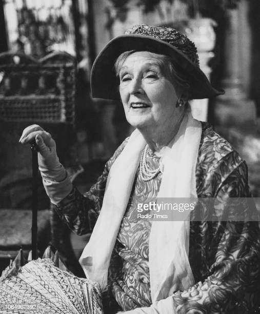 Actress Dame Sybil Thorndike in a scene from the BBC Play of the Month 'A Passage to India' November 16th 1965