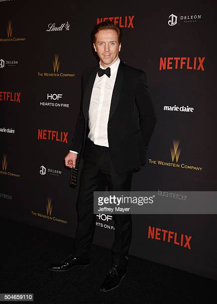 Actress Damian Lewis attends The Weinstein Company and Netflix Golden Globe Party presented with DeLeon Tequila Laura Mercier Lindt Chocolate Marie...