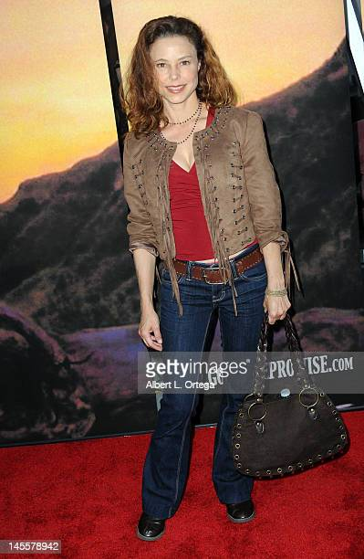 Actress Dana Barron arrives for Goodbye Promise Los Angeles Premiere held at The Downtown Independent on June 1 2012 in Los Angeles California