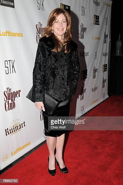 Actress Dana Delaney at STK LA on February 22 2008 in Los Angeles California