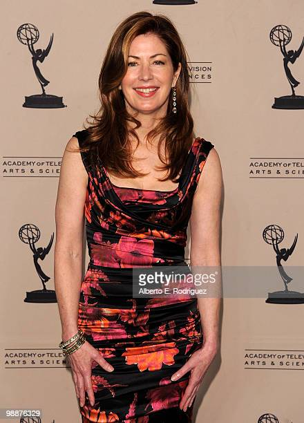Actress Dana Delany arrives at the Academy of Television Arts Sciences' 3rd Annual Academy Honors at the Beverly Hills Hotel on May 5 2010 in Beverly...
