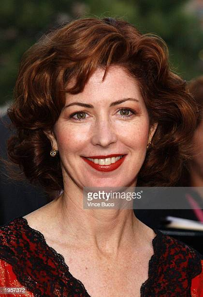 """Actress Dana Delany attends """"Backstage At The Geffen"""" second annual fundraising gala at the Geffen Playhouse on April 28, 2003 in Westwood,..."""