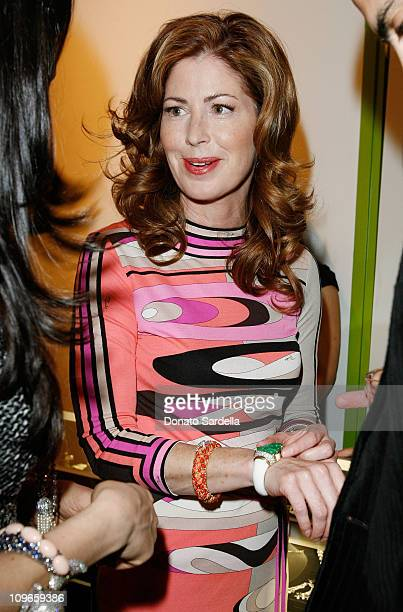 Actress dana Delany attends Phillips de Pury Company with Cameron Silver of Decades presents Diamonds and Dior on April 10 2008 Los Angeles California