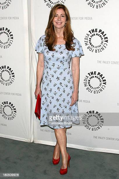 Actress Dana Delany attends the 2013 PaleyFestPreviews Fall TV 'Fall Flashback' reflections China Beach 25 years later held at The Paley Center for...