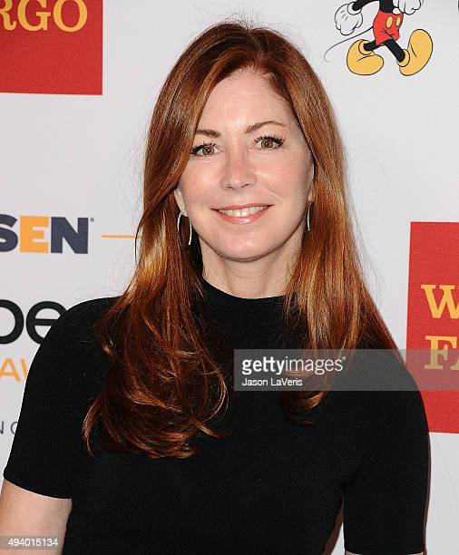 Actress Dana Delany attends the 2015 GLSEN Respect Awards at the Beverly Wilshire Four Seasons Hotel on October 23 2015 in Beverly Hills California