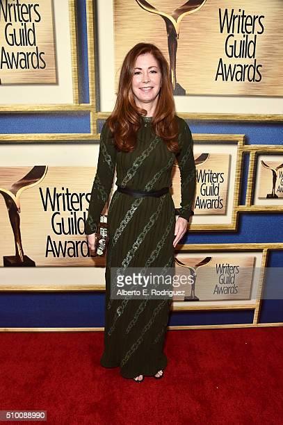 Actress Dana Delany attends the 2016 Writers Guild Awards at the Hyatt Regency Century Plaza on February 13 2016 in Los Angeles California