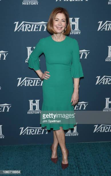 Actress Dana Delany attends the 2nd Annual Variety Salute to Service at Cipriani Downtown on November 12 2018 in New York City