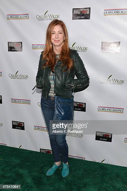 Actress Dana Delany attends the 9th Annual Oscar Wilde Honoring The Irish In Film PreAcademy Awards event at Bad Robot on February 27 2014 in Santa...