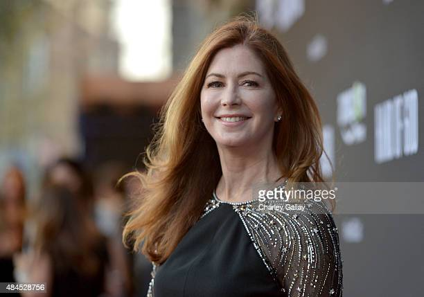 Actress Dana Delany attends the Amazon premiere screening for original drama series Hand Of God at The Theatre at Ace Hotel on August 19 2015 in Los...