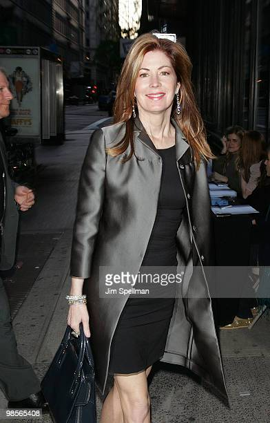 Actress Dana Delany attends the Cinema Society screening of Multiple Sarcasms at AMC Loews 19th Street East 6 theater on April 19 2010 in New York...