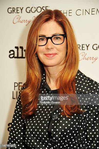 Actress Dana Delany attends the Cinema Society with Linda Wells Allure screening of DreamWorks Studios' People Like Us at Clearview Chelsea Cinemas...