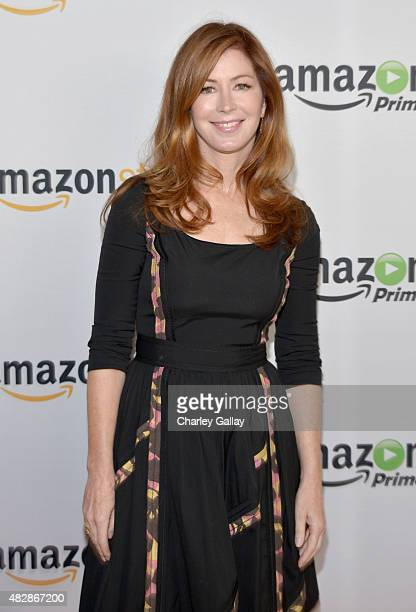 Actress Dana Delany attends the 'Hand Of God' panel discussion at the Amazon Studios portion of the 2015 Summer TCA Tour on August 3 2015 in Beverly...
