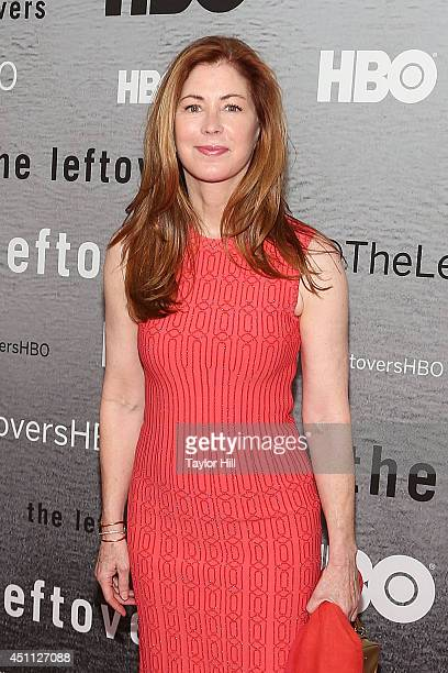 Actress Dana Delany attends The Leftovers premiere at NYU Skirball Center on June 23 2014 in New York City