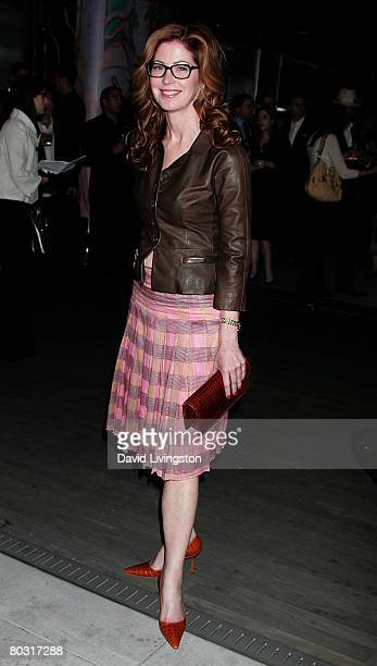 Actress Dana Delany attends the Prada Los Angeles screening of 'Trembled Blossoms' at Prada Beverly Hills Epicenter on March 19 2008 in Beverly Hills...
