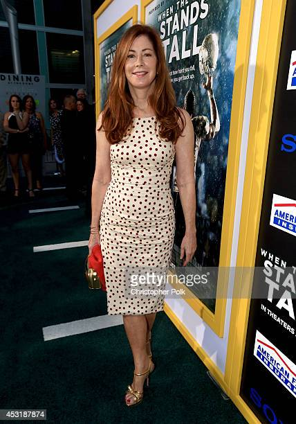 Actress Dana Delany attends the premiere of Tri Star Pictures' When The Game Stands Tall at ArcLight Cinemas on August 4 2014 in Hollywood California