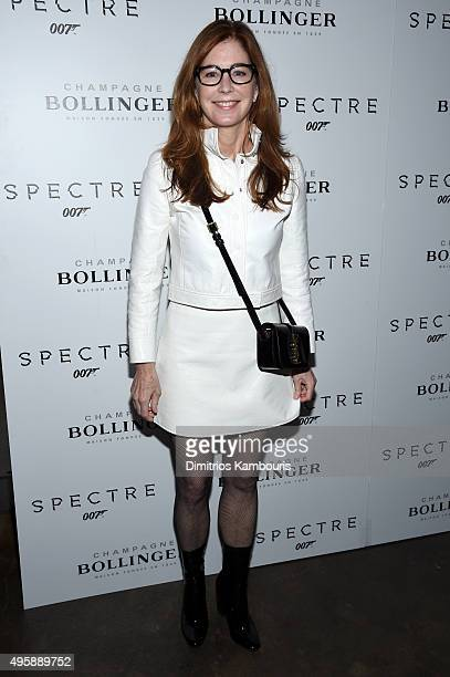 Actress Dana Delany attends the 'Spectre' prerelease screening hosted by Champagne Bollinger and The Cinema Society at the IFC Center on November 5...