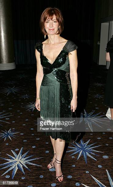 Actress Dana Delany poses at the 19th American Cinematheque Awards to honor Steve Martin at the Beverly Hilton Hotel on November 12 2004 in Beverly...