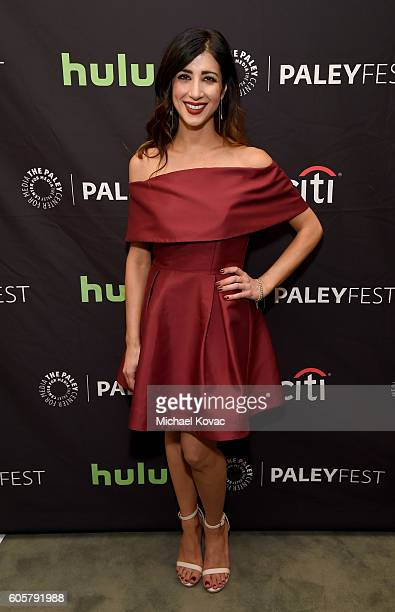 Actress Dana DeLorenzo arrives at The Paley Center for Media's 10th Annual PaleyFest Fall TV Previews honoring STARZ's Ash vs Evil Dead at the Paley...