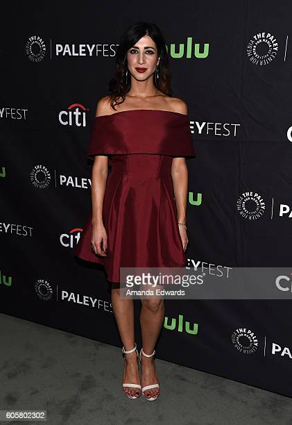 Actress Dana DeLorenzo arrives at The Paley Center for Media's PaleyFest 2016 Fall TV Preview for STARZ at The Paley Center for Media on September 14...