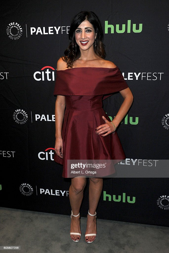 Actress Dana DeLorenzo at the The Paley Center For Media's PaleyFest 2016 Fall TV Preview - STARZ's 'Ash Vs. Evil Dead' held at The Paley Center for Media on September 14, 2016 in Beverly Hills, California.