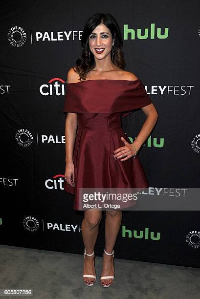 Actress Dana DeLorenzo at the The Paley Center For Media's PaleyFest 2016 Fall TV Preview STARZ's Ash Vs Evil Dead held at The Paley Center for Media...
