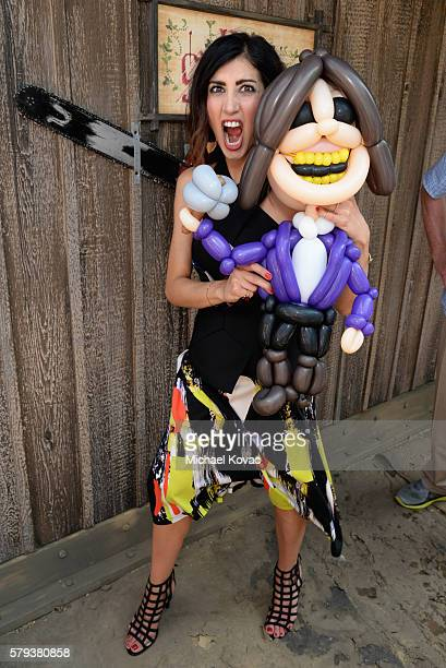 Actress Dana DeLorenzo attends the Ash vs Evil Dead autograph signing during ComicCon International 2016 at PETCO Park on July 23 2016 in San Diego...