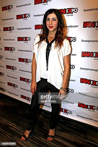 Actress Dana DeLorenzo from the television series Ash Vs The Evil Dead attends Fan Expo Canada at Metro Toronto Convention Centre on September 2 2016...
