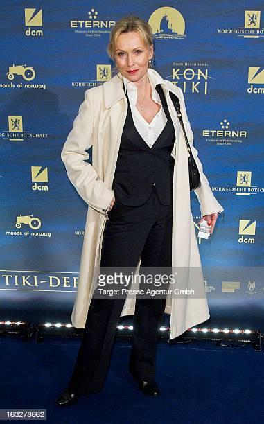Actress Dana Golombek attends the 'KonTiki' Premiere at Kino International on March 6 2013 in Berlin Germany