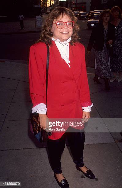 Actress Dana Hill attends the M Butterfly Opening Night Play Performance on July 3 1991 at the Wilshire Theatre in Beverly Hills California