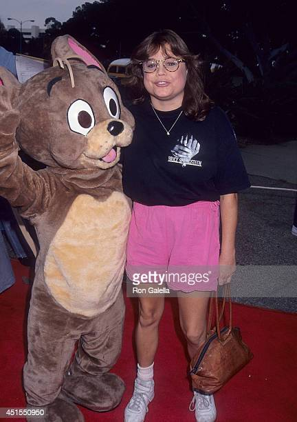 Actress Dana Hill attends the Tom Jerry The Movie Westwood Premiere on July 24 1993 at the Wadsworth Theatre in Westwood California