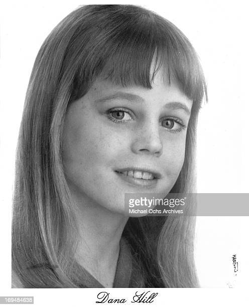 Actress Dana Hill poses for a portrait in circa 1975
