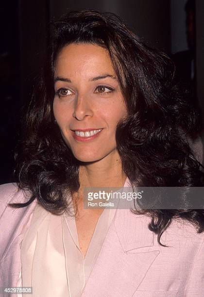 Actress Dana Kaminski attends the American Women in Radio Television's 35th Annual Genii Awards on April 20 1990 at the Regent Beverly Wilshire Hotel...