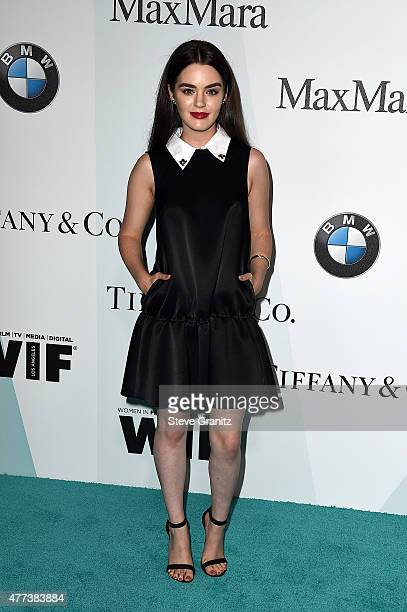 Actress Dana Melanie attends the Women In Film 2015 Crystal Lucy Awards at the Hyatt Regency Century Plaza on June 16 2015 in Century City California