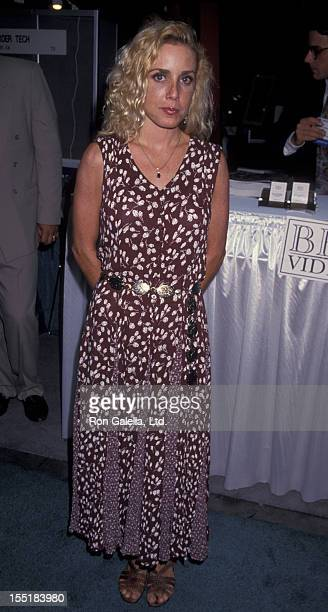 Actress Dana Plato attends Video Software Dealers Association Convention on July 24 1994 at the Las Vegas Convention Center in Las Vegas Nevada