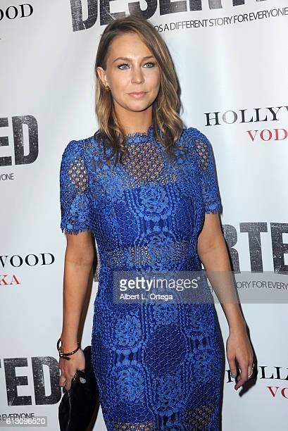 Actress Dana Rosendorff arrives for the Premiere Of Winterstone Pictures' 'Deserted' held at Majestic Crest Theatre on October 6 2016 in Los Angeles...