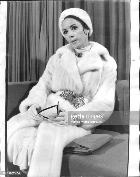 Actress Dana Wynter last night at the Chevron Hotel King's Cross June 7 1971