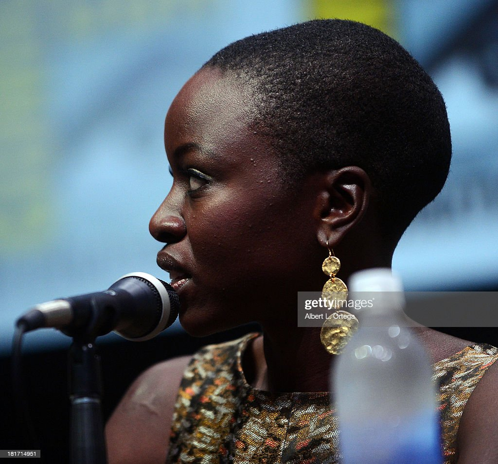 Actress Danai Gurira attends AMC's 'The Walking Dead' Panel as part of Comic-Con International 2013 held at San Diego Convention Center on Friday July 19, 2012 in San Diego, California.