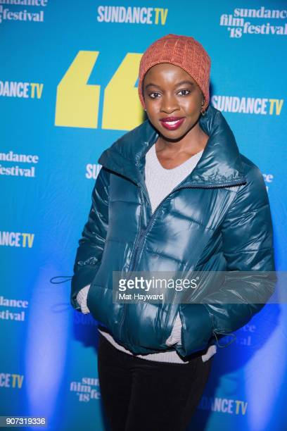 Actress Danai Gurira attends the 2018 Sundance Film Festival Official Kickoff Party Hosted By SundanceTV at Sundance TV HQ on January 19 2018 in Park...