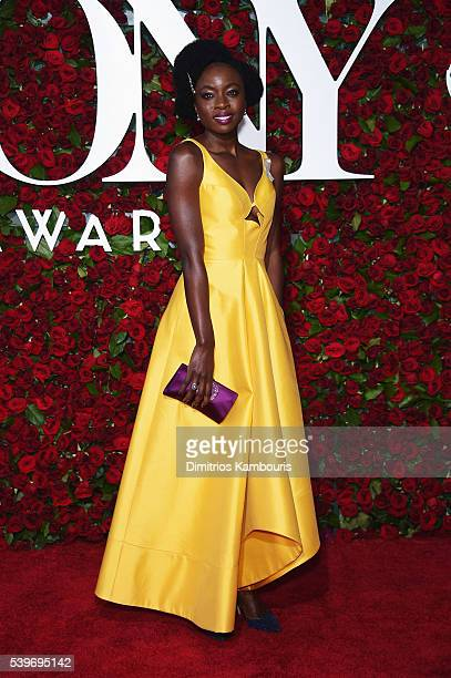 Actress Danai Gurira attends the 70th Annual Tony Awards at The Beacon Theatre on June 12 2016 in New York City