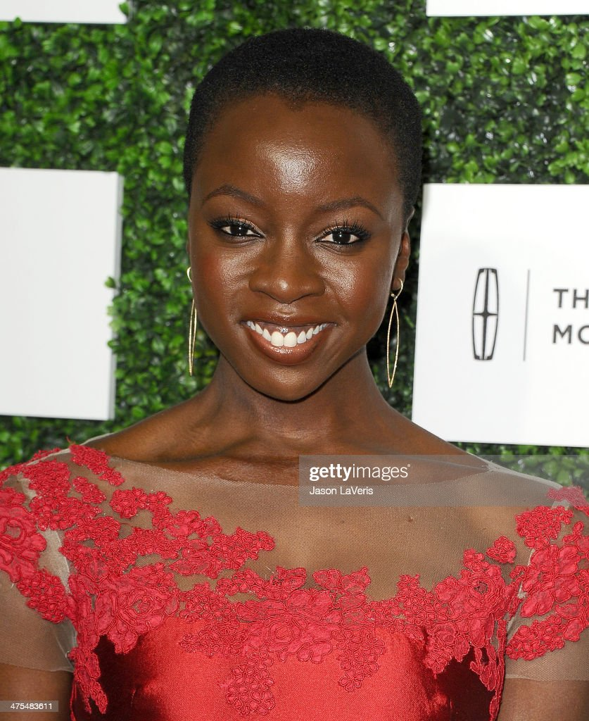 Actress Danai Gurira attends the 7th annual ESSENCE Black Women In Hollywood luncheon at Beverly Hills Hotel on February 27, 2014 in Beverly Hills, California.
