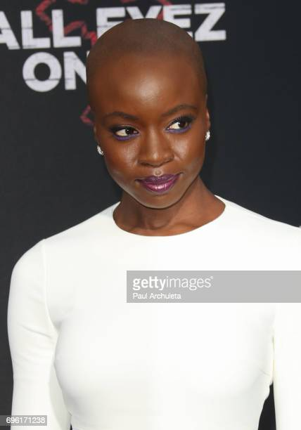 Actress Danai Gurira attends the premiere of Lionsgate's 'All Eyez On Me' on June 14 2017 in Los Angeles California