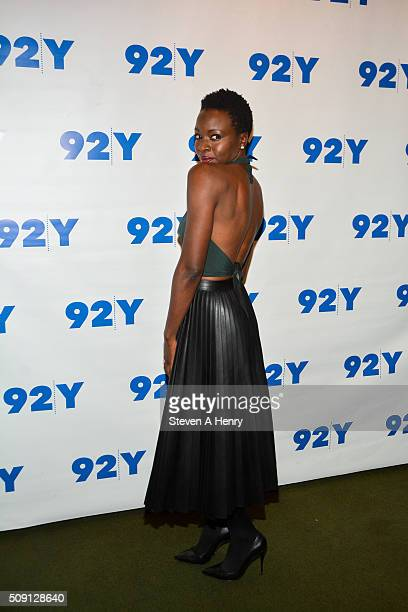 Actress Danai Gurira attends 'The Walking Dead' Screening and Conversation at 92nd Street Y on February 8 2016 in New York City
