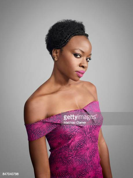 Actress Danai Gurira from 'The Walking Dead' is photographed for Entertainment Weekly Magazine on July 23 2016 at Comic Con in the Hard Rock Hotel in...