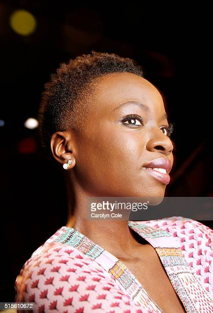 Actress Danai Gurira is photographed for Los Angeles Times on March 2 2016 in New York City PUBLISHED IMAGE CREDIT MUST READ Carolyn Cole/Los Angeles...