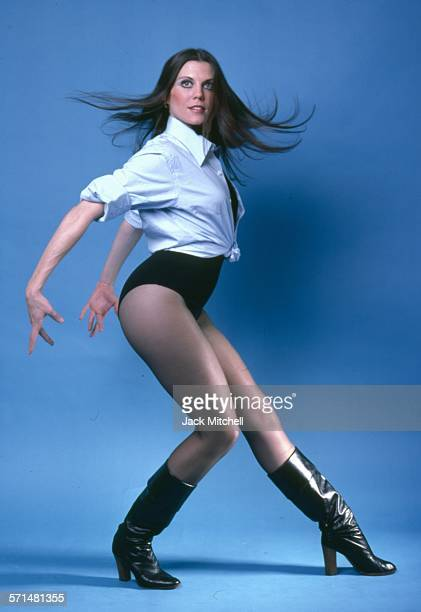 Actress dancer and choreographer Ann Reinking photographed in 1977