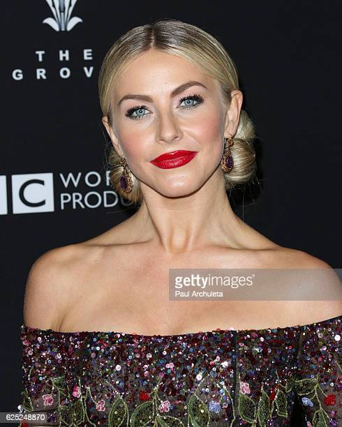 Actress / Dancer Julianne Hough attends ABC's Dancing With The Stars season 23 finale at The Grove on November 22 2016 in Los Angeles California