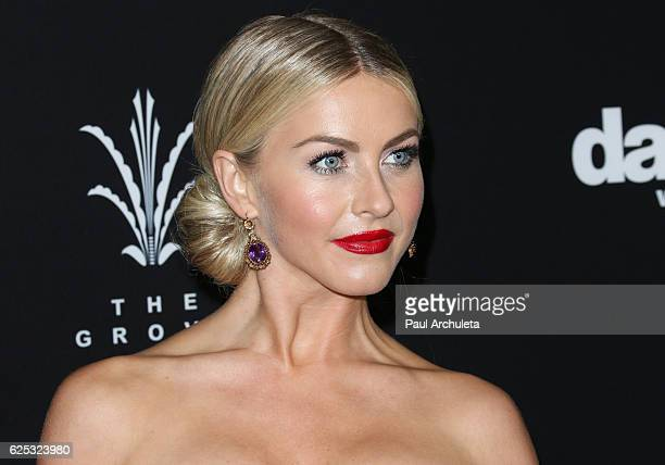 Actress / Dancer Julianne Hough attends ABC's 'Dancing With The Stars' season 23 finale at The Grove on November 22 2016 in Los Angeles California